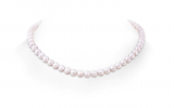 7-8mm, 16″ Single Strand Akoya Cultured Pearl Necklace